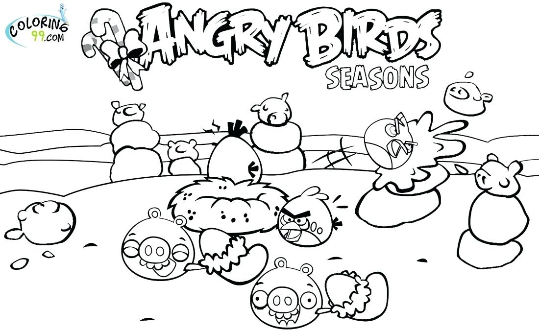 1100x676 Seasons Coloring Page Angry Birds Season Coloring Pages Com Four