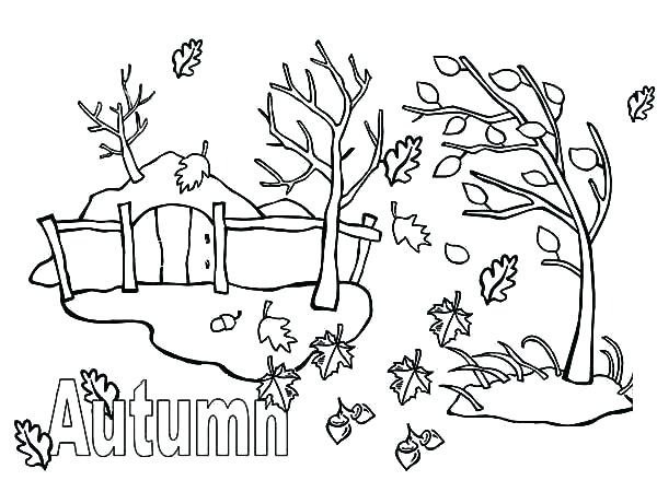 600x450 Seasons Coloring Page Seasons Coloring Page Seasons Coloring