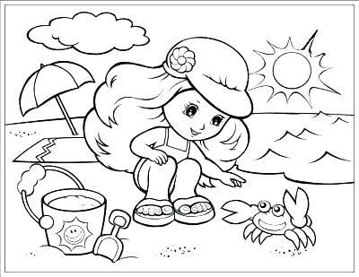 400x309 Seasons Coloring Page Seasons Coloring Pages Seasons Coloring Page