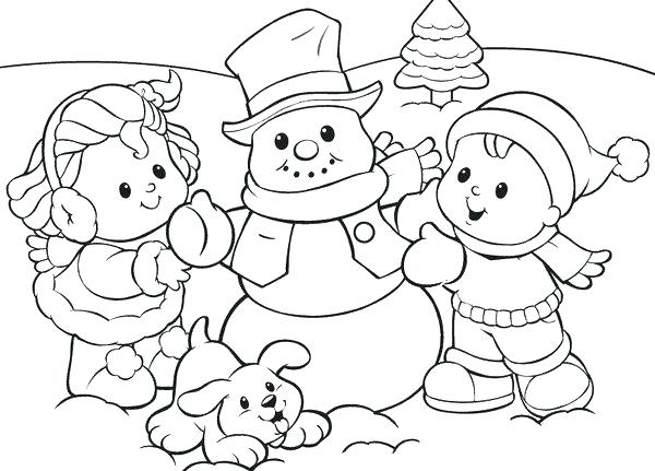 600x431 Season Coloring Pages Coloring Pictures For Kids Winter Season