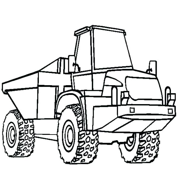600x612 Wheeler Coloring Sheets Printable Coloring Four Wheeler Coloring
