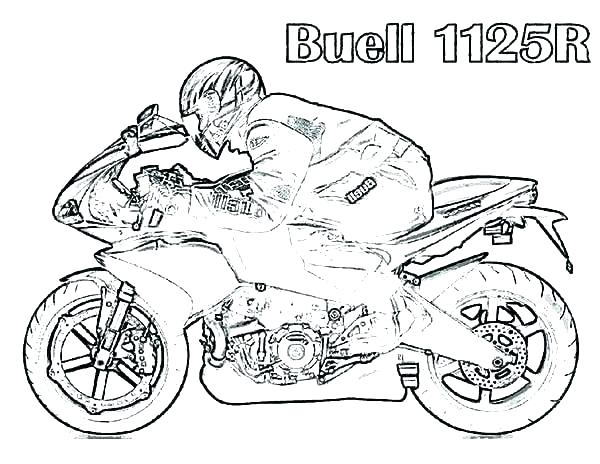 600x464 Coloring Pages Of Motorcycles Motorcycle Coloring Pages Coloring