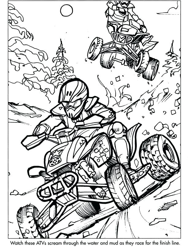 613x805 Four Wheeler Coloring Pages Wheeler Coloring Pages Truck Coloring