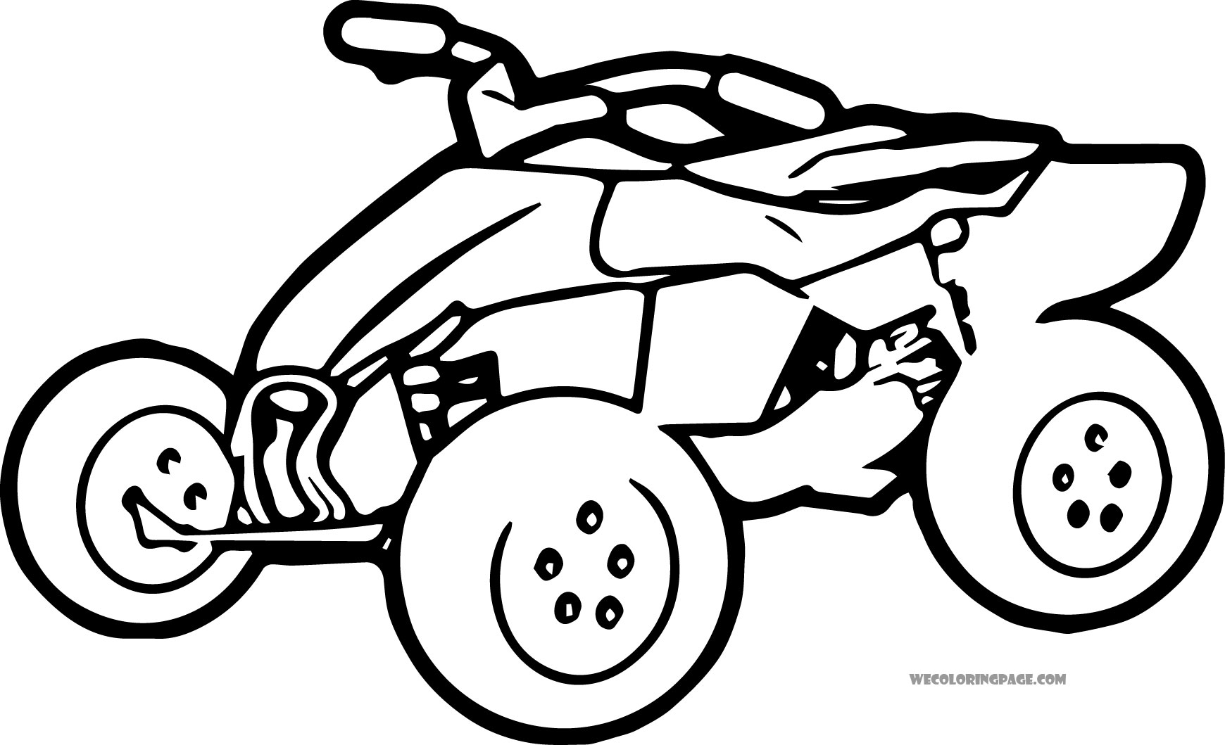 1740x1059 Kids Atv Coloring Pages Also Four Wheelers Robertjhastings Net