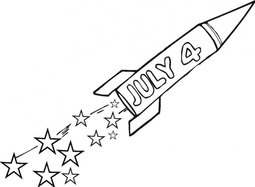 Fourth Of July Coloring Pages at GetDrawings.com   Free for personal ...
