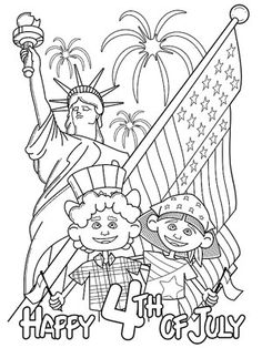 236x314 Of July Coloring Pages Free, Holidays And Craft