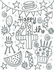 209x280 Of July Coloring Page Independence Day Theme Weekly Home