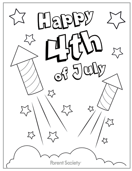 464x600 Appalling Fourth Of July Coloring Pages To Print Preschool Photos