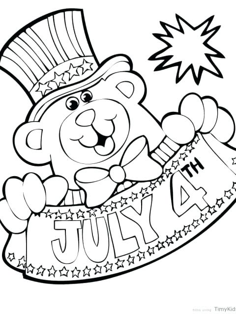 480x640 Fourth Of July Coloring Pages Fourth Of Coloring Pages Of July