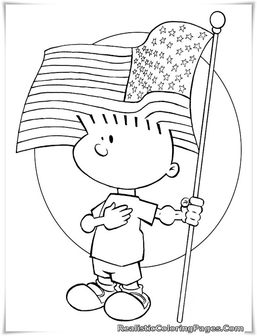 819x1069 Of July Coloring Pages For Toddlers