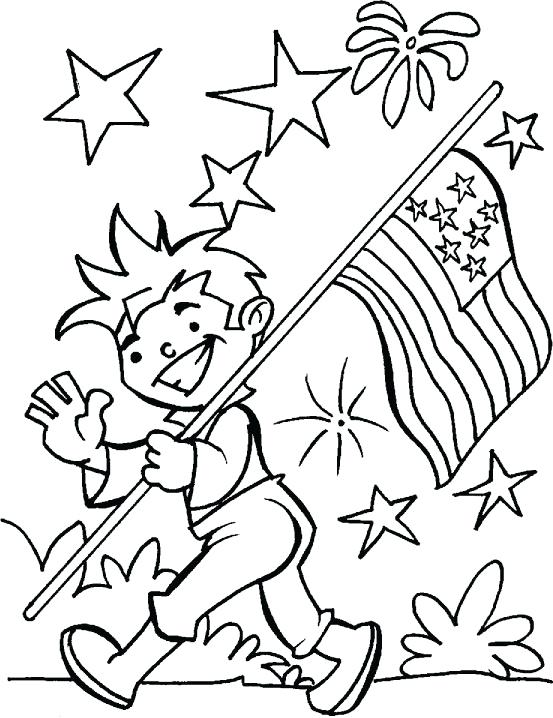 553x718 Fourth Of July Coloring Pages Of Parade Coloring Pages Of July