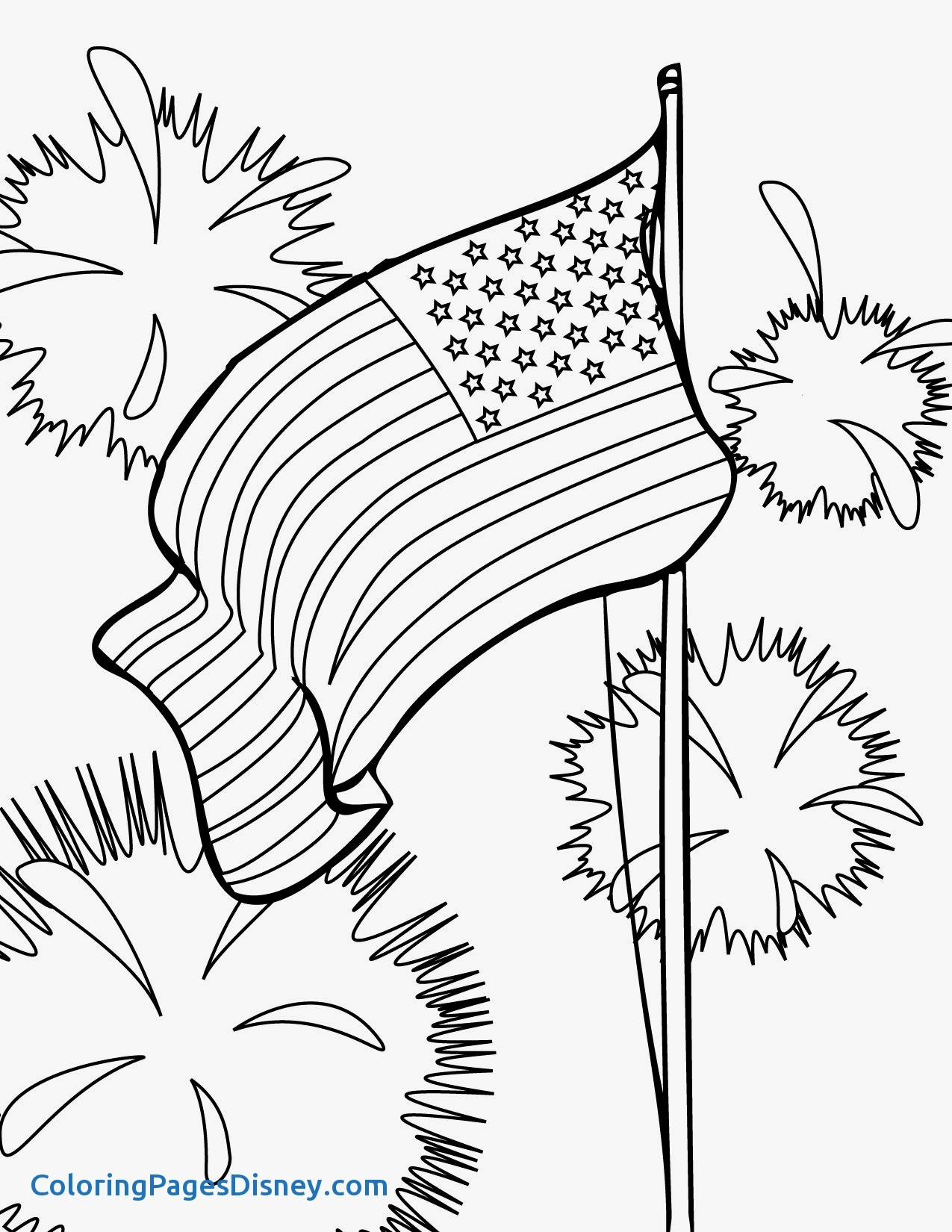 1275x1650 Inspirational Fourth Of July Coloring Pages