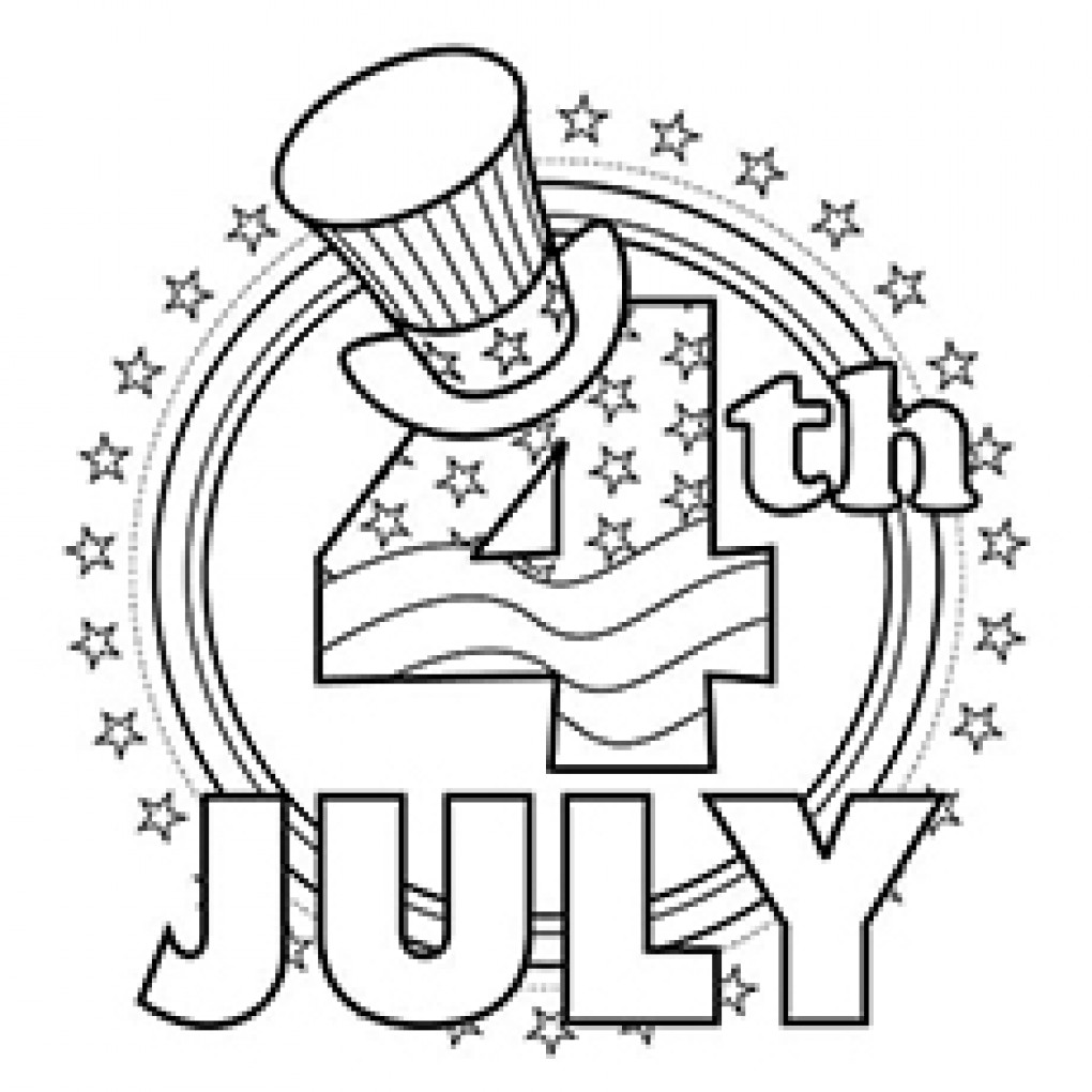 1020x1020 Fourth Of July Printable Coloring Pages