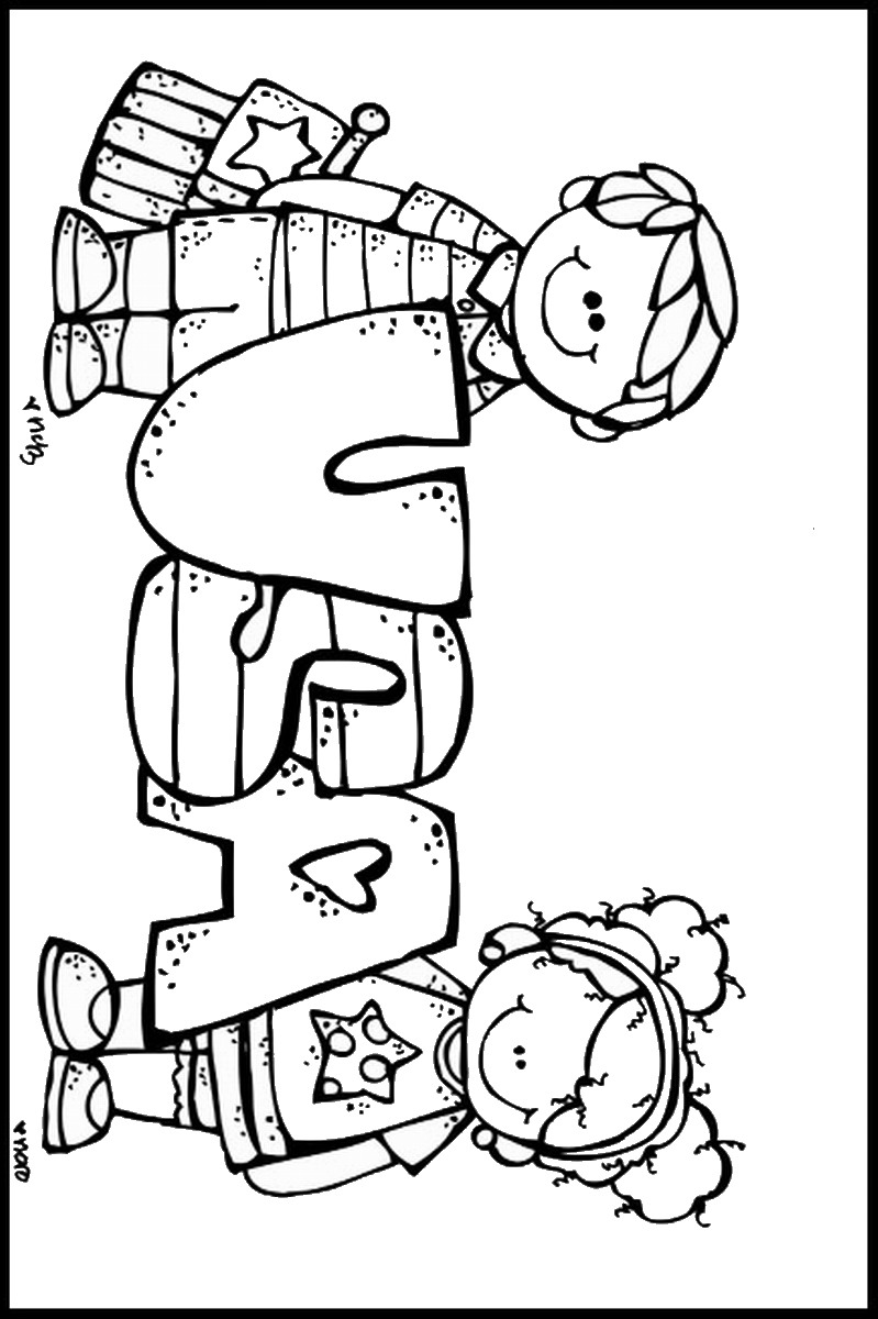 799x1200 Fourth Of July Coloring Pages