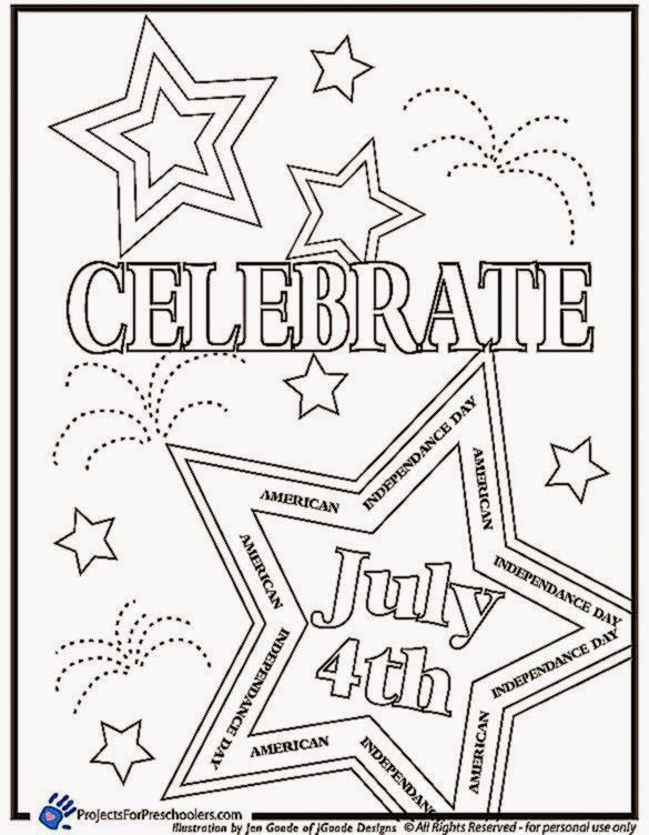 585x752 Greatest Fourth Of July Coloring Pages To Print Sporturka