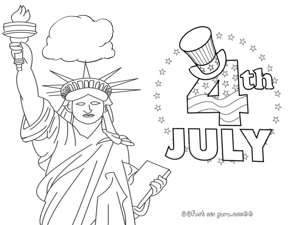 1024x768 July Coloring Pages Fresh Fourth July Printable Coloring Pages