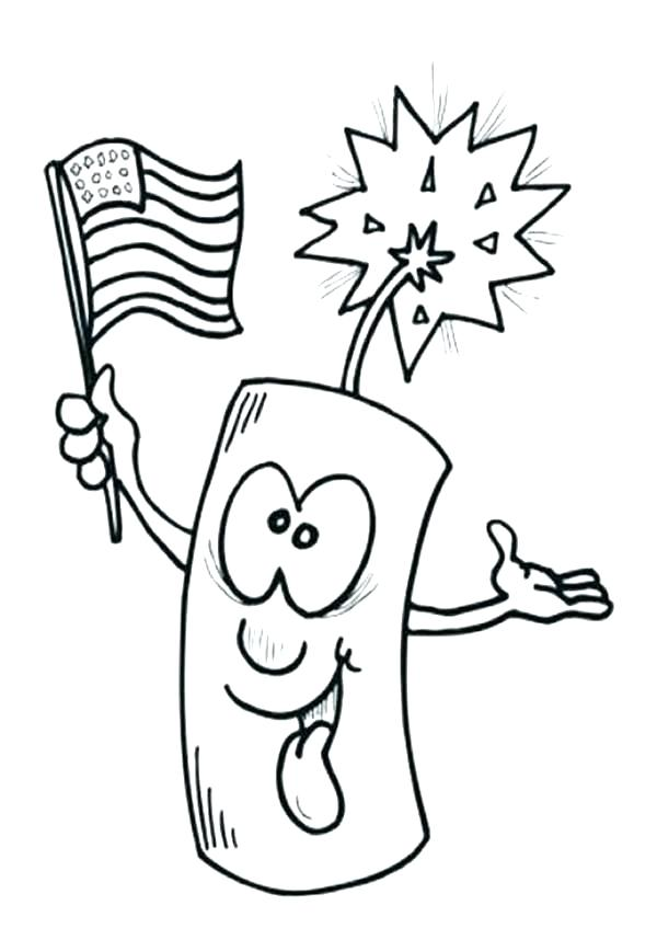 600x868 Fourth Of July Printable Coloring Pages
