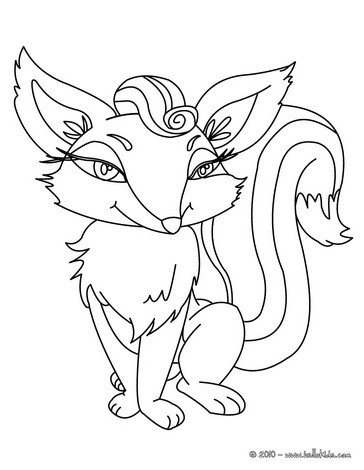 364x470 Howling Wolf Coloring Pages