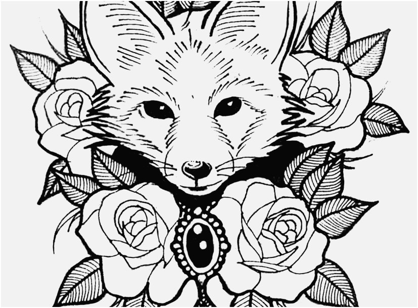 827x609 The Suitable Portraits Coloring Pages Animals Incredible