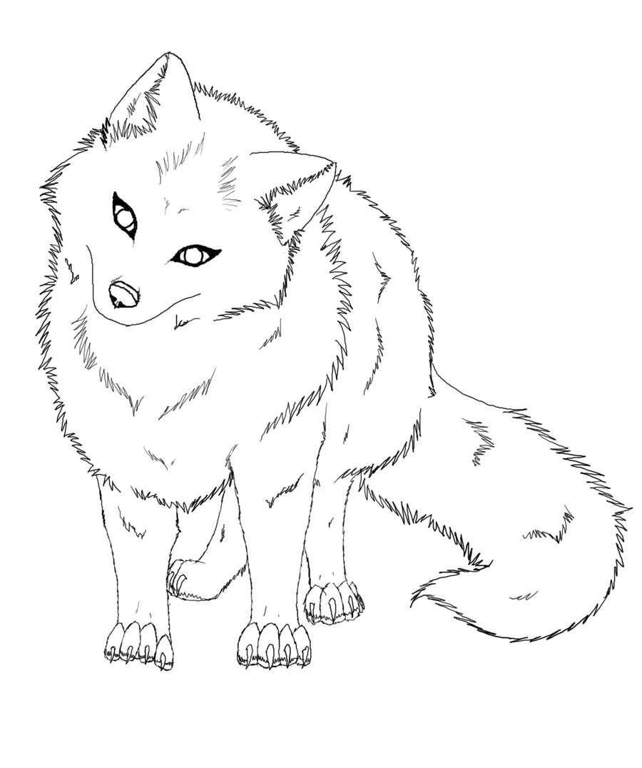 900x1076 Baby Fox Coloring Pages