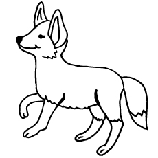 230x230 Top Free Printable Fox Coloring Pages Online