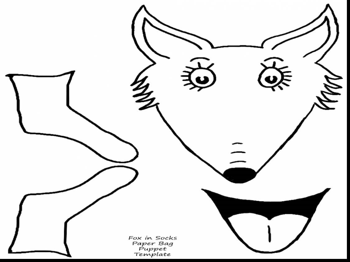 1126x844 Useful Fox In Socks Coloring Page Pages