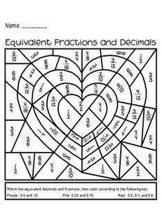 236x314 Equivalent Fractions Worksheets These Coloring Sheets Make