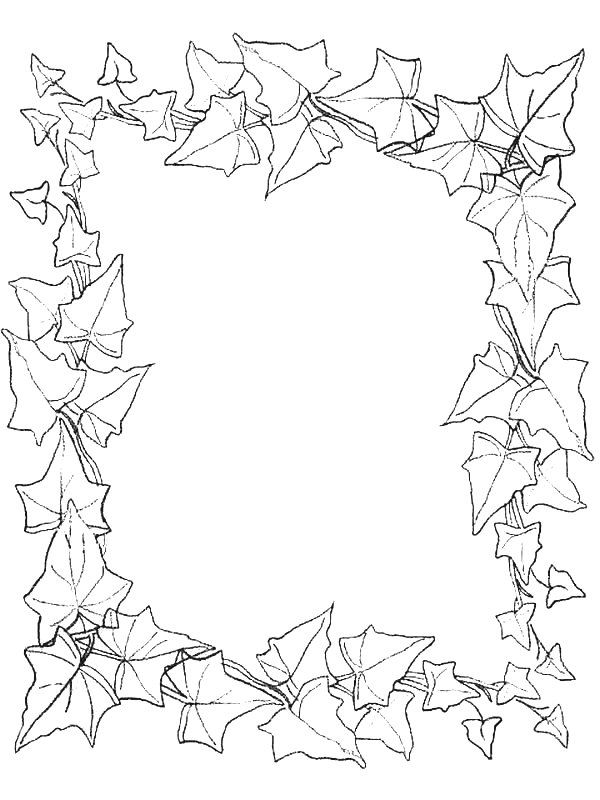 600x800 Best Coloring Pages Frames And Borders Images