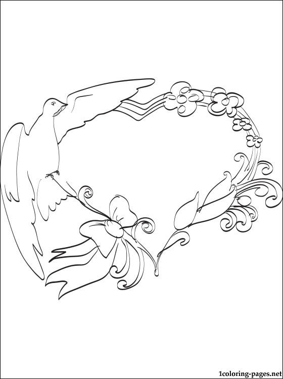 560x750 Wedding Frame Coloring Page Coloring Pages