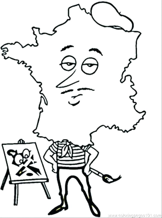 650x871 France Flag Coloring Page Flag Coloring Page Coloring Page Tower
