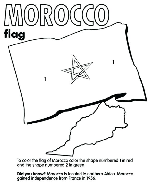 628x762 French Flag Coloring Page Turkey Flag Coloring Page Morocco