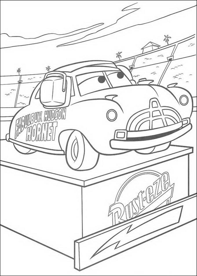 680x952 Coloriage Francesco Bernoulli Pixar Cars Coloring Pages Pixar