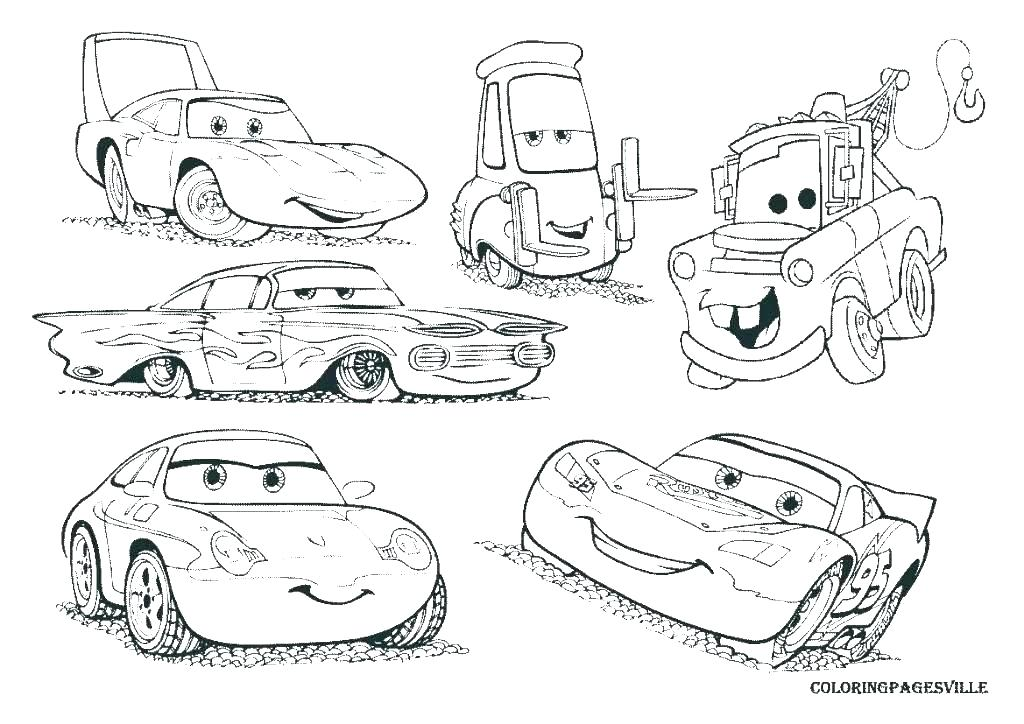 1024x724 Coloring Pages Of Cars Cars Movie Coloring Pages Images Trend