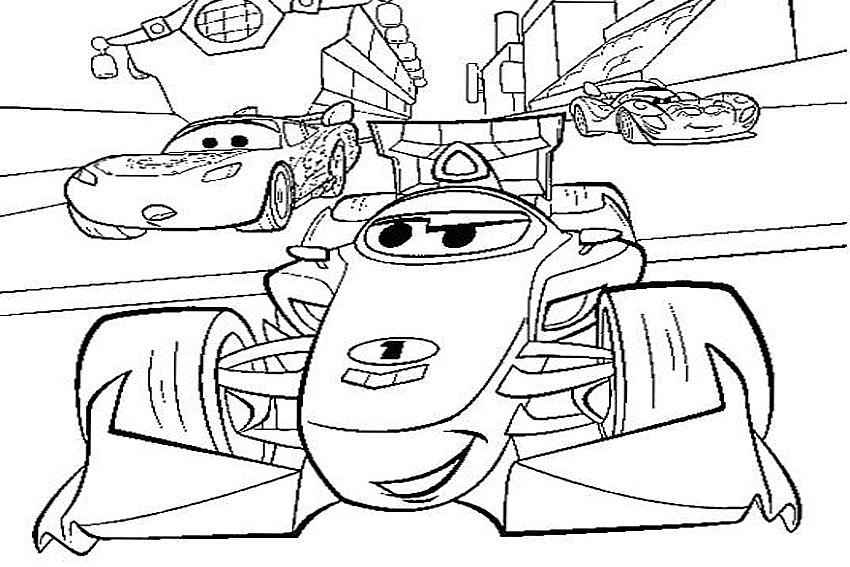 Kleurplaten Francesco Cars 2.Francesco Bernoulli Coloring Pages At Getdrawings Com Free For