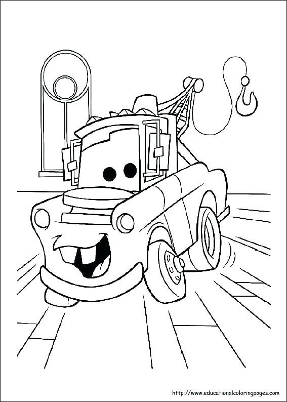 567x794 Cars Coloring Pages Cars Coloring Book In Addition To Cars
