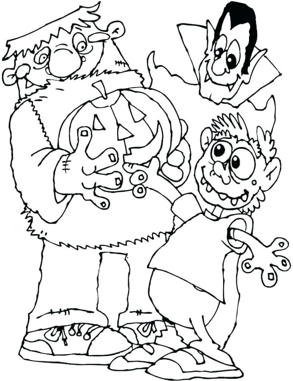 600x779 Frankenstein Coloring Page Tall Coloring Page Frankenstein