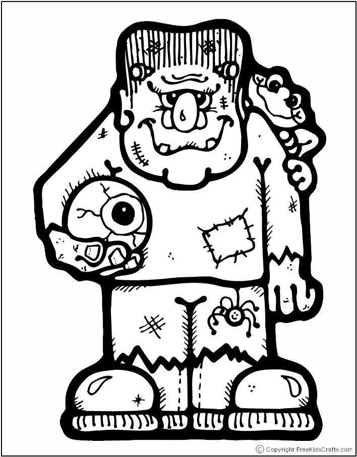 708x908 Frankenstein Coloring Pages To Print Frankenstein Coloring Page