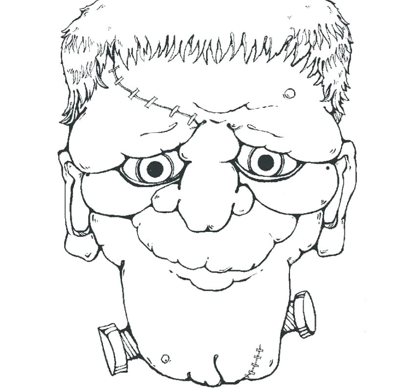820x800 Frankenstein Coloring Pages Bride Of Coloring Pages Page Head