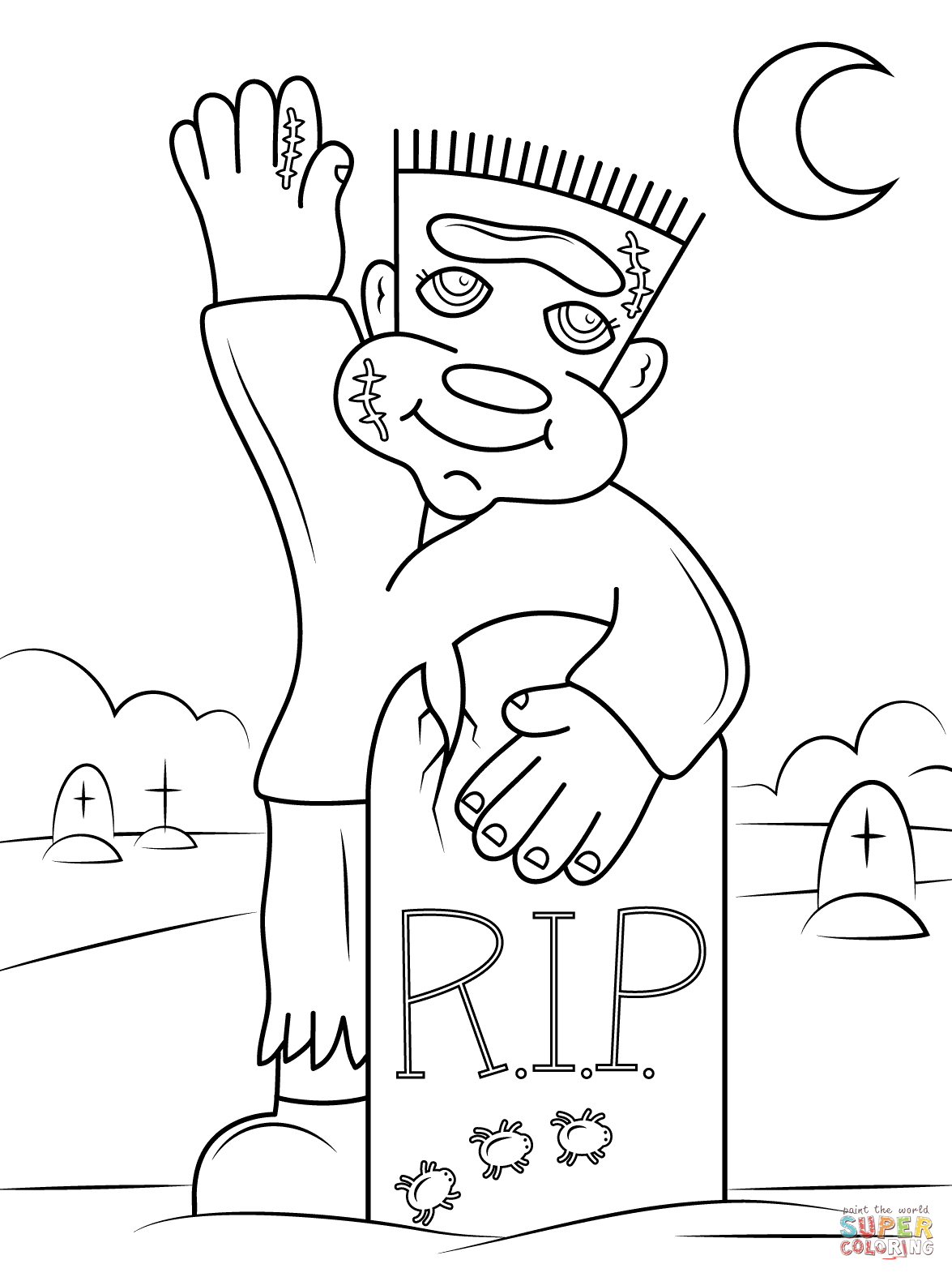 1175x1575 Frankenstein Coloring Pages Free Coloring Pages Frankenstein
