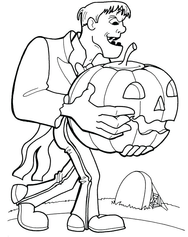 635x800 Coloring Pages More Coloring Pages From Print Frankenstein