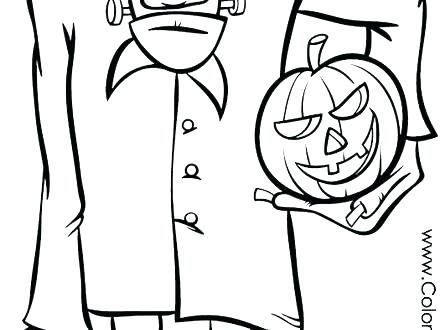 440x330 Frankenstein Coloring Page X Cute Frankenstein Coloring Pages