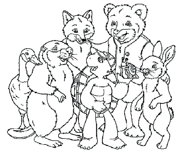 Franklin Coloring Pages At Getdrawings Com Free For Personal Use