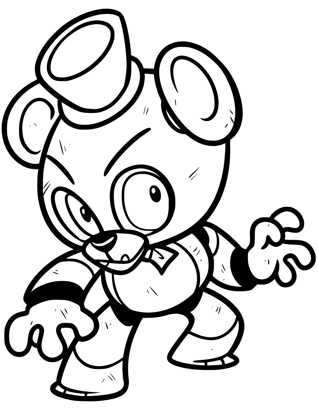 Freddy Coloring Pages at GetDrawings.com | Free for ...