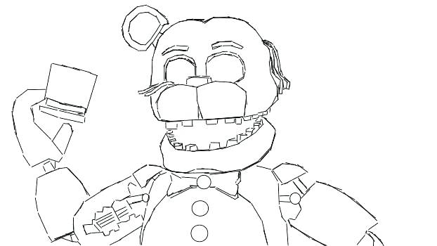 Five nights at freddy's coloring pages | Print and Color.com | 350x622
