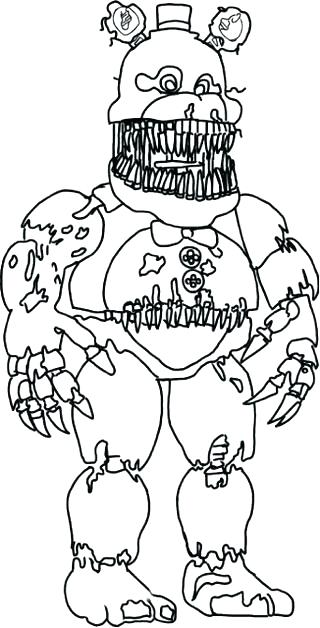 Freddy Coloring Pages At Getdrawings Com Free For Personal Use