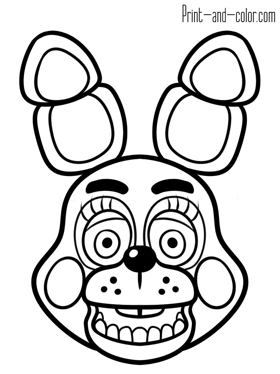 image regarding Fnaf Coloring Pages Printable identify Freddy Fazbear Coloring Web site at  Free of charge for