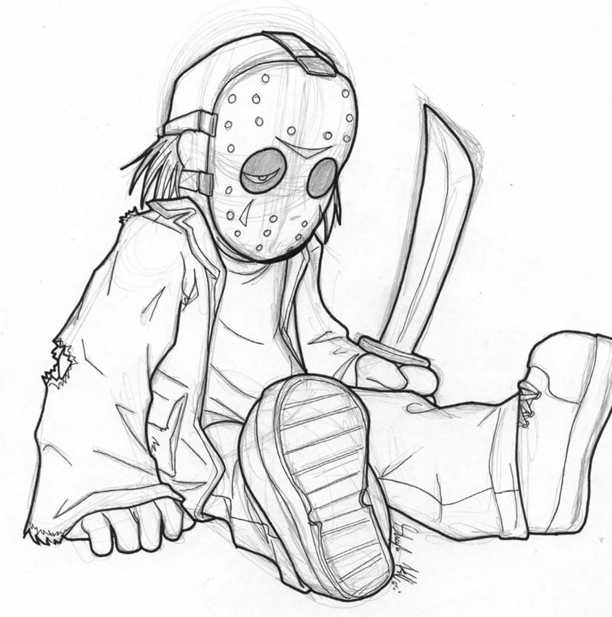 Freddy Vs Jason Coloring Pages at GetDrawings.com | Free for ...