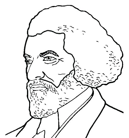 540x576 Frederick Douglass Coloring Page Coloring Page Coloring Page