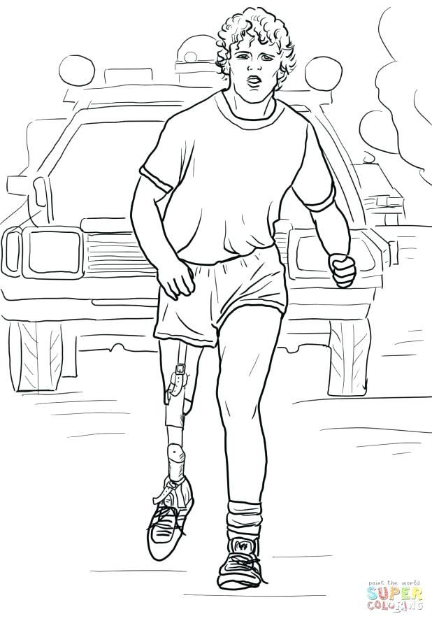 618x888 Frederick Douglass Coloring Page Coloring Page Terry Fox Run Free