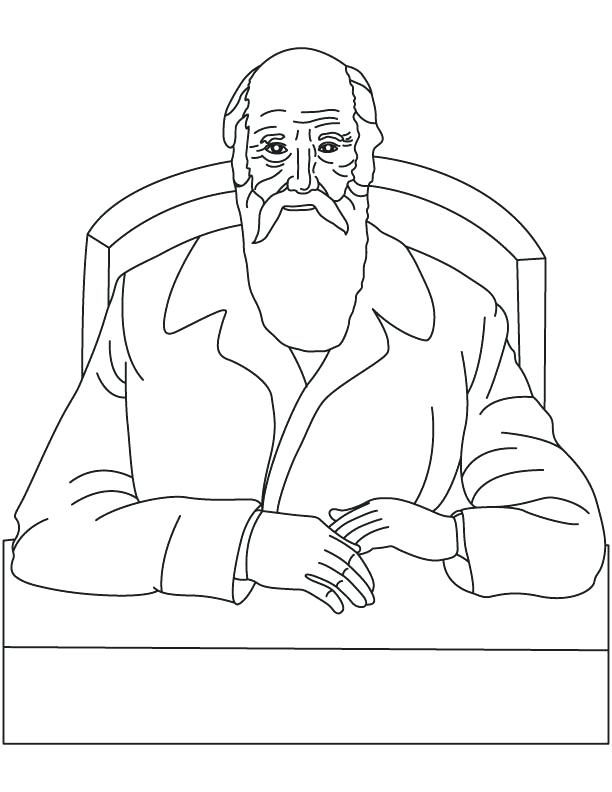 612x792 Frederick Douglass Coloring Page Click To See Printable Version
